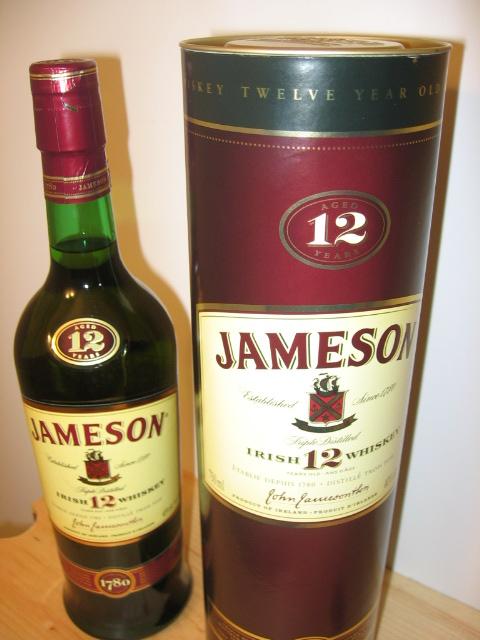 Jameson 12 year old Irish Whiskey 007
